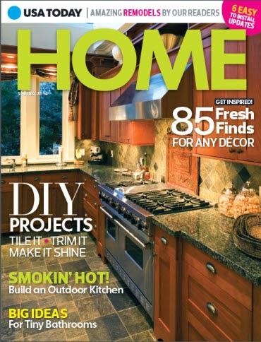 USA Today Home magazine cover
