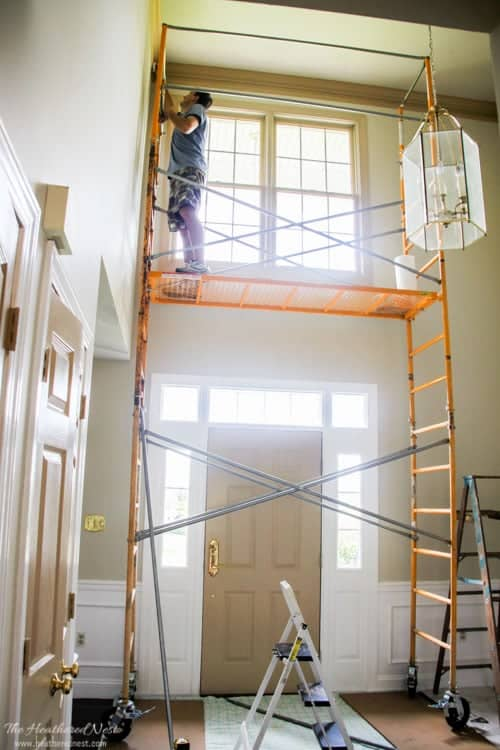 Bubble Foyer Chandelier : Diy foyer with glass chandelier aka bubble toil