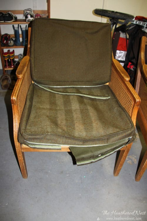 Brilliant Trash To Treasure Armchair Revival With Diy Upholstery The Squirreltailoven Fun Painted Chair Ideas Images Squirreltailovenorg