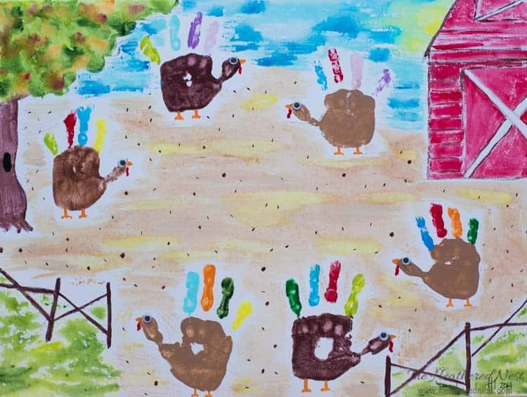kids-handprint-art-canvas-ideas-heatherednest-com-3