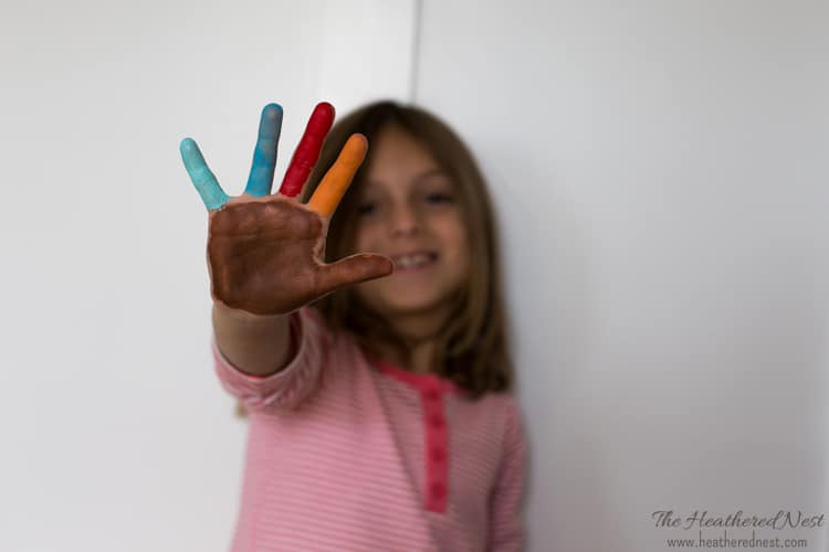 "Kids Handprint Art Ideas – ""Spirit Fingers"""