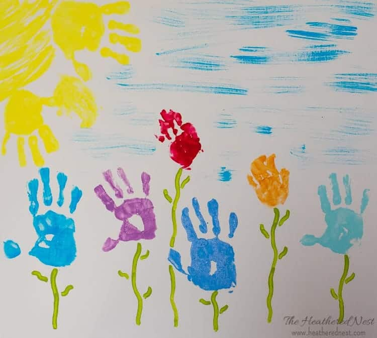 kids-handprint-art-canvas-ideas-heatherednest-com-8