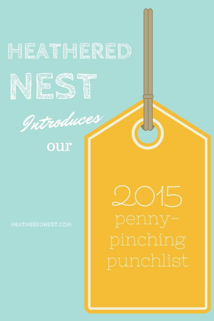 2015 Penny-Pinching Do It Yourself Projects Punchlist