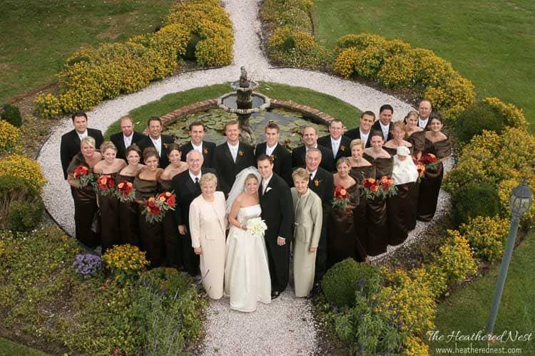 wedding party image