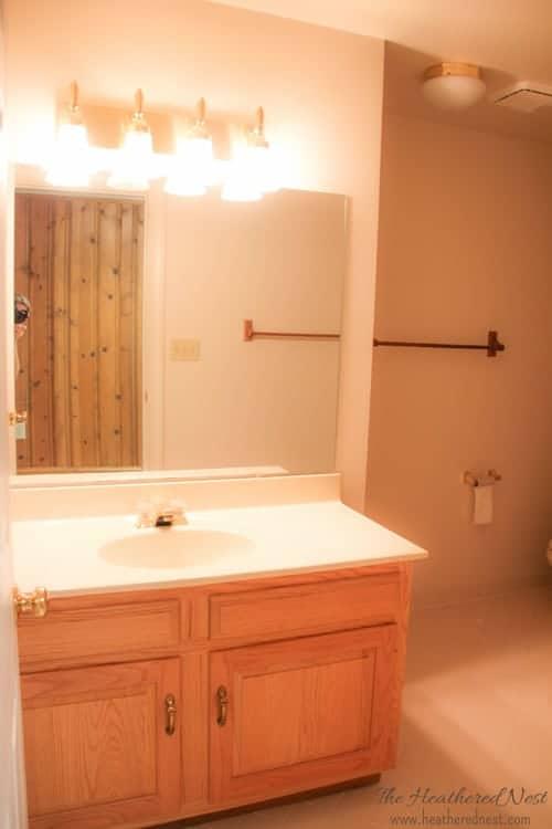 Gorgeous Diy Bathroom French Country Bathroom Via Www Heatherednest Com With Toile