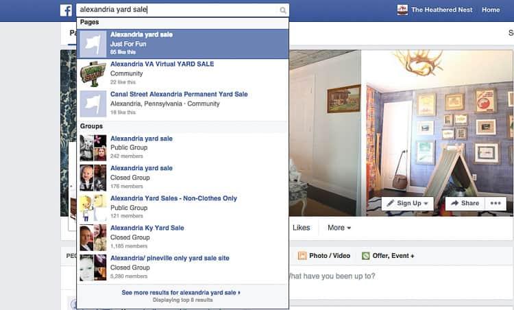 Friending Dead Presidents on Facebook (The World of the Facebook Garage Sale).