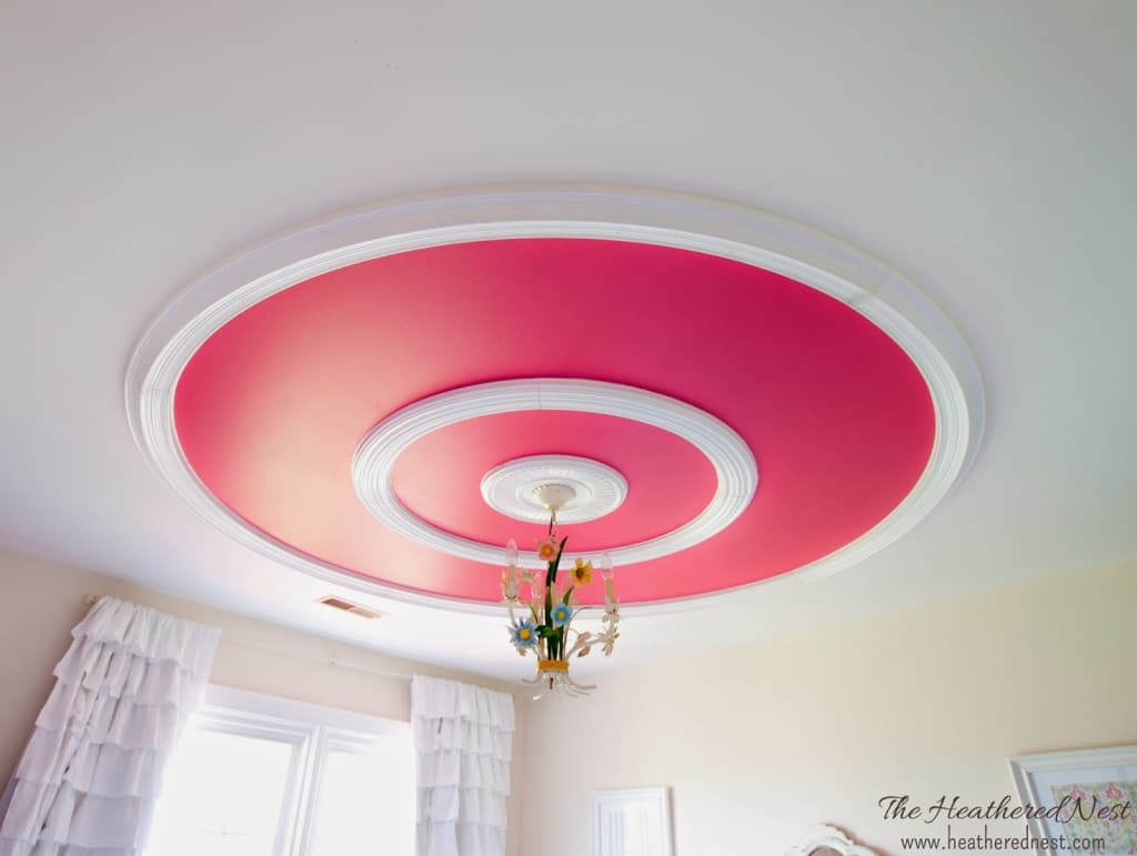 Don't forget the ceiling!! DIY ceiling design ideas...Lots of INCREDIBLE ideas for all budgets and DIY skill levels at DIY blog www.heatherednest.com