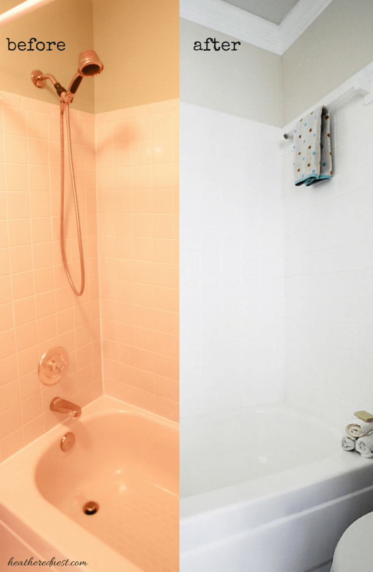 The Cover Up...Painting Tiles with a Rust-Oleum Touch-Up Kit | The ...