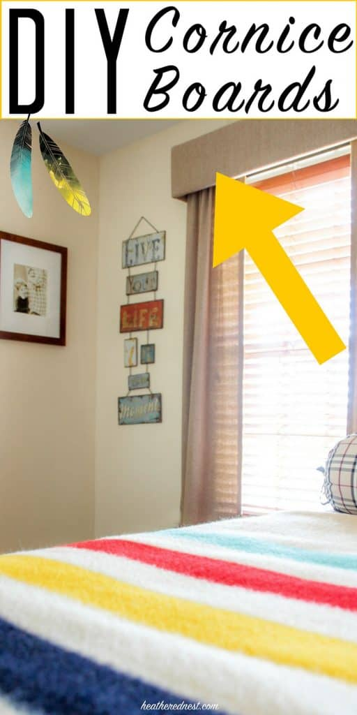 All about DIY cornices. Cornice boards are a popular, and inexpensive window treatment. Great article!!