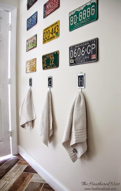 14 INEXPENSIVE & DIY Bathroom Ideas for Towel Bar Accessories! DON'T SPEND A FORTUNE on a towel rack! CHECK THESE OUT NOW! www.heatherednest.com
