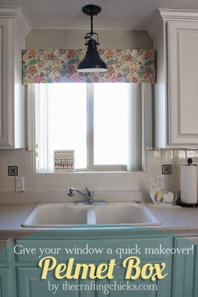 beautiful kitchen cornice board example