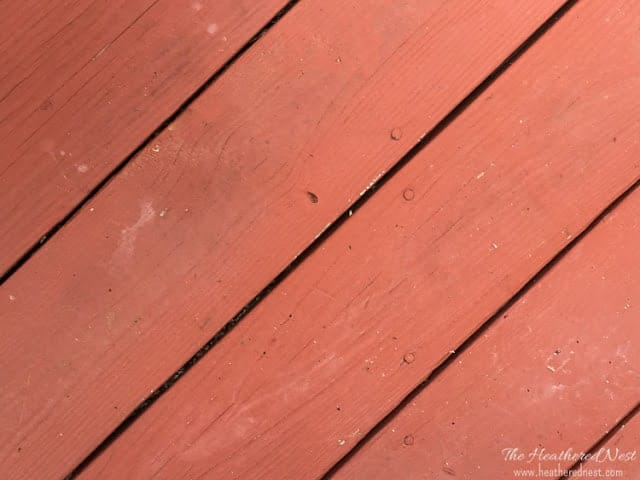 Preparation is the KEY for successfully DIY staining a deck! Learn how it's done in this tutorial series at www.heatherednest.com