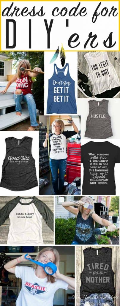 SO FUN! Such hilarious and popular womens graphic tees and casual work wear - casual fashion ideas for stay at home moms and DIYers!!! LOL! Love the 3rd one!!!