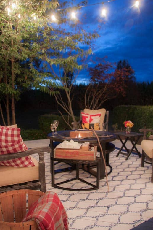 Heathered Nest Outdoor Living Room-Deck Reveal!