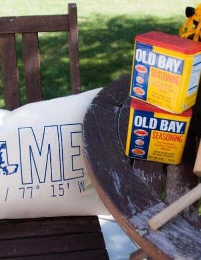 Heathered Nest Outdoor Living Room-Deck Reveal!