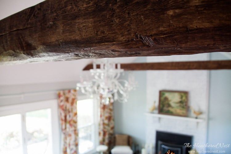 How to Install Faux Beams