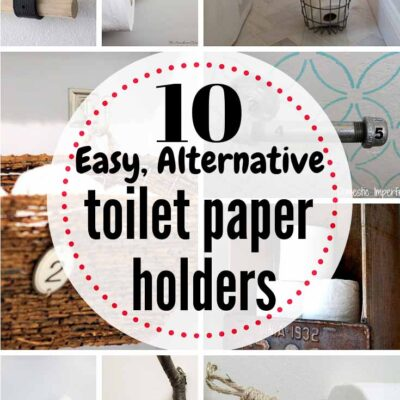 10 Easy DIY Alternatives to $$ Store-Bought TP Holders...