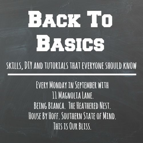 back to basics series