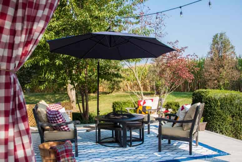 Painted Outdoor Rug A Diy Rug Tutorial The Heathered Nest