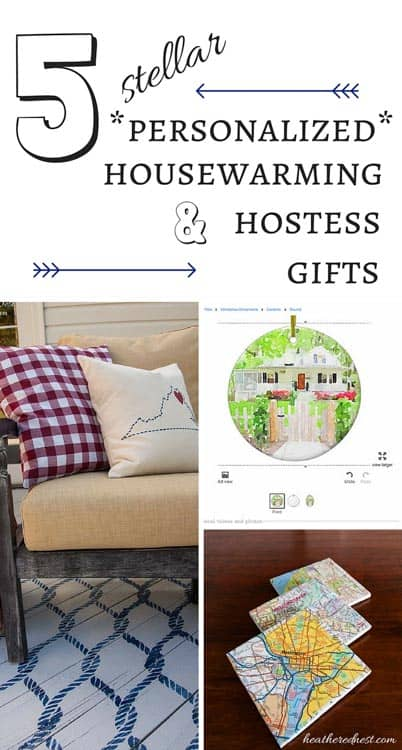 5 Stellar Personalized Hostess Gifts Good Housewarming Gifts