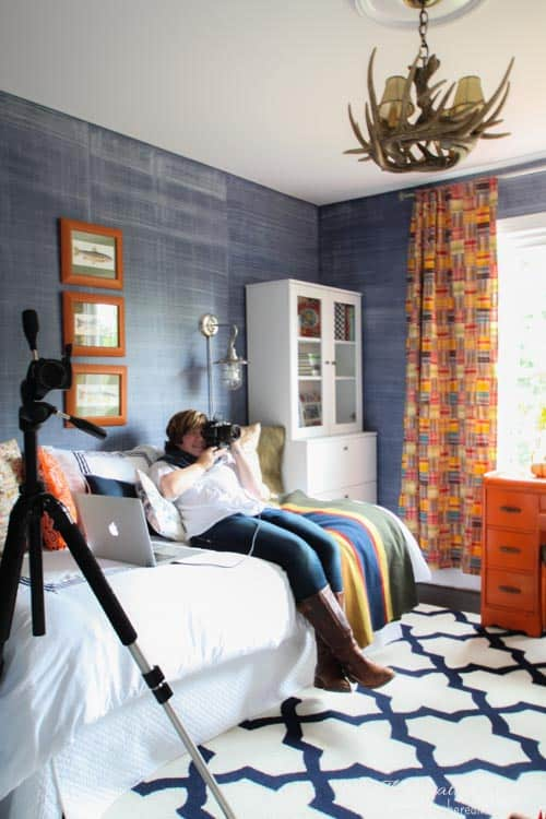 Heathered Nest Cottages & Bungalows Magazine Shoot with Miss Mustard Seed and Rosemary & Thyme