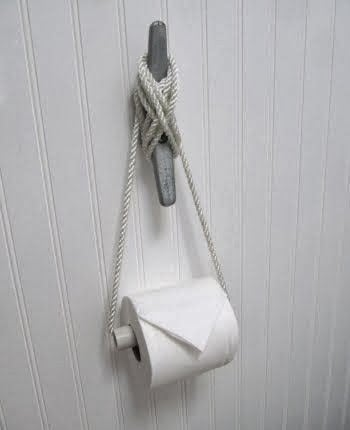 diy and low cost alternatives to traditional hi dollar toilet paper holders you - Bathroom Paper