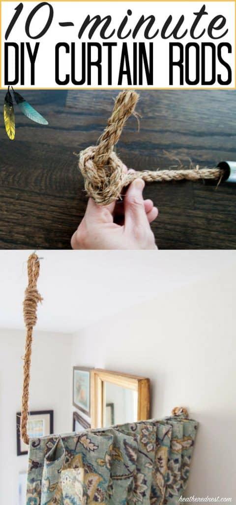 Pipe Dreams Aka Build A Diy Curtain Rod In 10 Minutes
