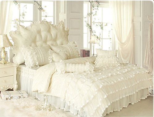 Amazon ruffle bedding