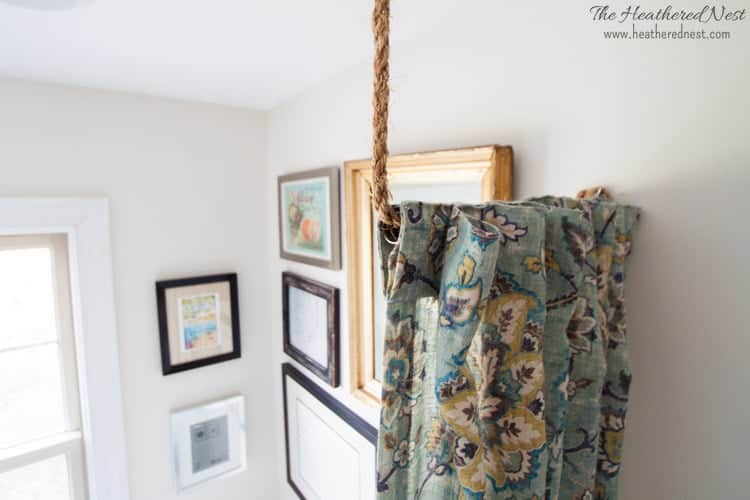 Pipe Dreams. AKA Build a DIY Curtain Rod in 10 minutes!