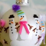 Handprint Ornament and DIY Christmas Ornament Ideas