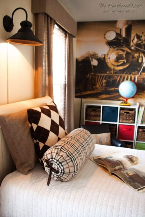 How to create the perfect child's space. Kids room decor-less is more! Focus on these FOUR areas heatherednest.com