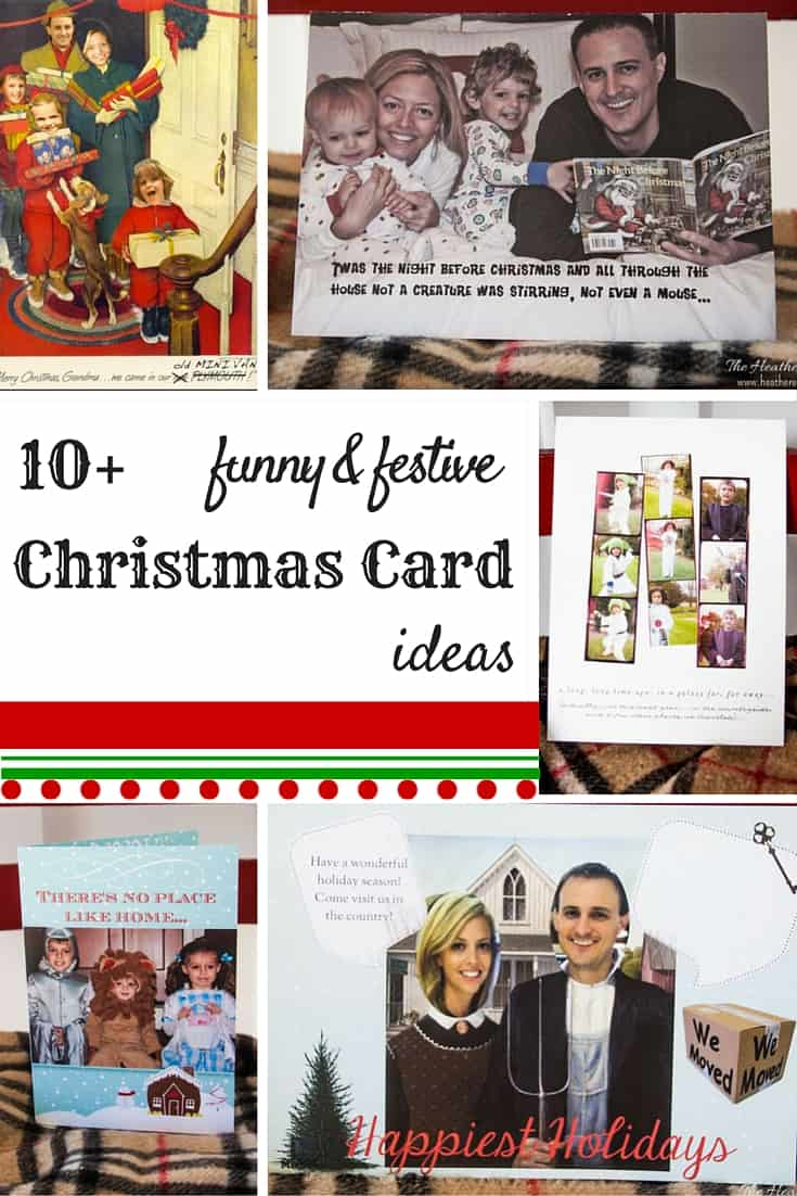 10 fun and festive christmas and holiday card ideas from heatherednestcom - Personalized Christmas Cards No Photo