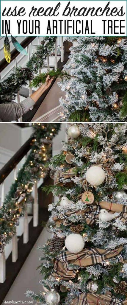 Quot Spruce Quot Up Your Fake Christmas Tree With Real Pine