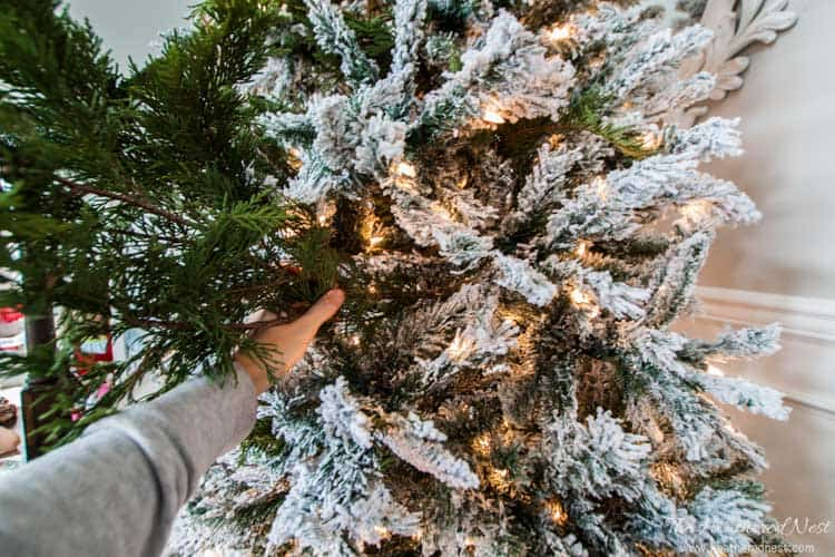 Spruce Up Your Fake Christmas Tree With Real Pine