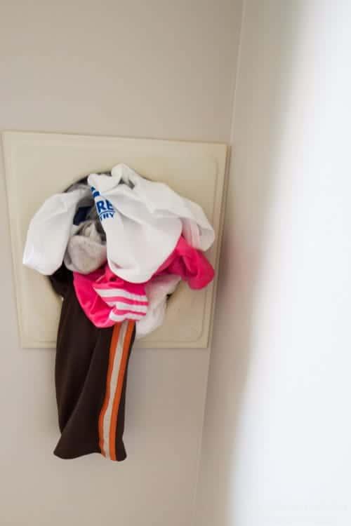 Laundry room, mud room budget makeover from heatherednest.com