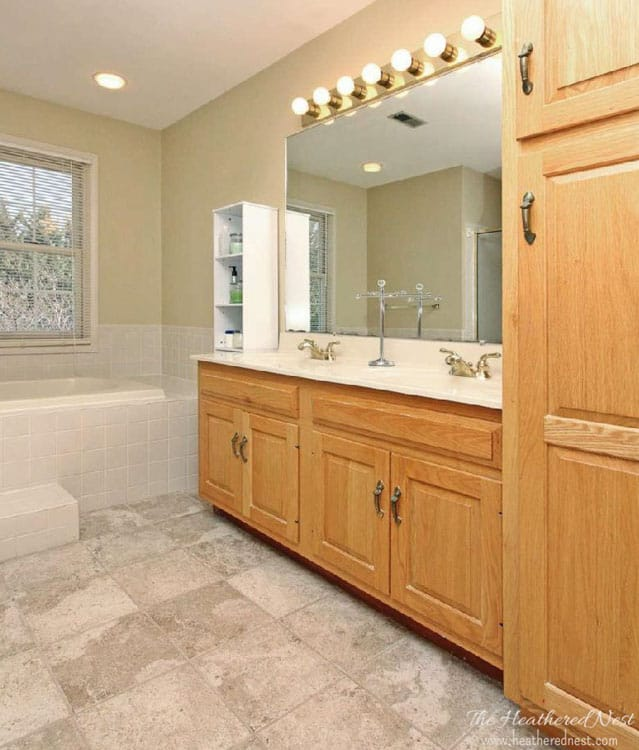 2015 resolution recap heathered nest master bathroom makeover