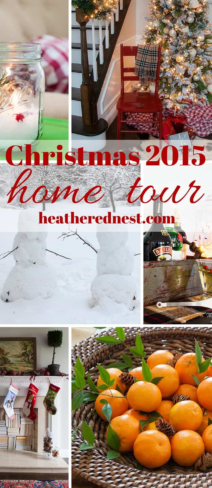 A simple, rustic Christmas 2015 home tour part 2 from heatherednest.com
