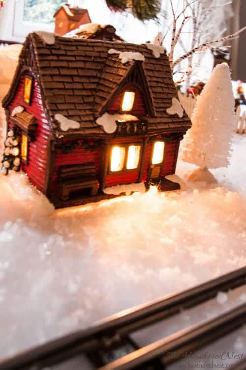 DIY Painted Christmas Village update Heathered Nest-4