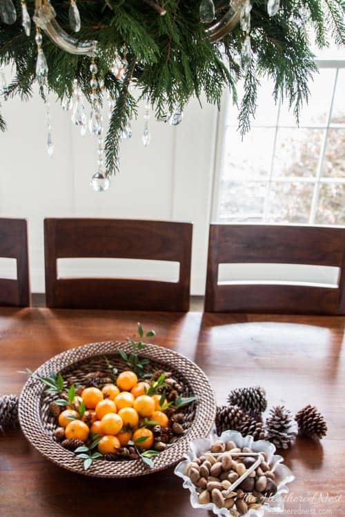 5 Easy DIY ways to Decorate with FREE Christmas Tree Trimmings or Pine Clippings for the Holidays! Don't spend more on decor, when you can use beautiful greenery to make Christmas Garland and more for free!