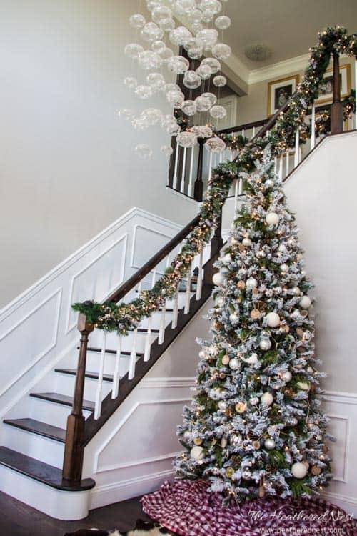 heatherednest.com holiday home decorators home tour 2015