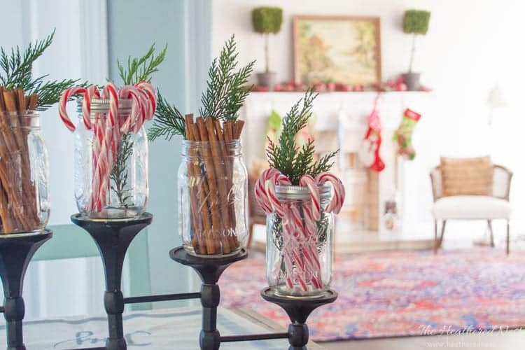 heatherednest.com holiday home decorators home tour 2015