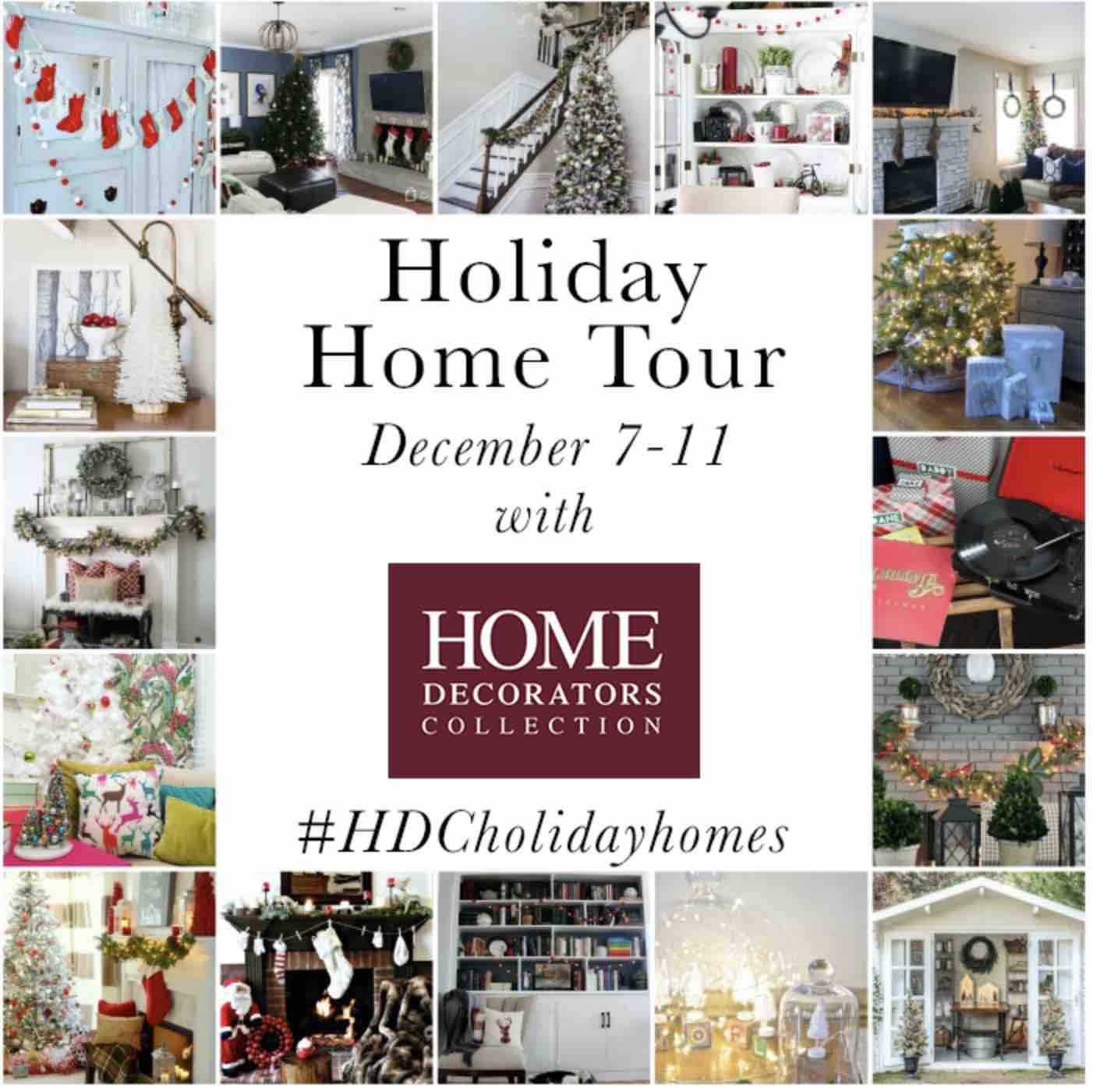 holiday home tour graphic