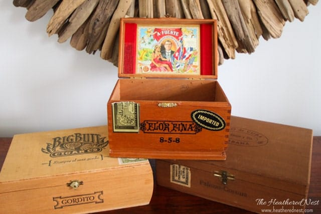 11 Magnolia Lane Mission Organization - Heathered Nest Cigar Box Key Organizer