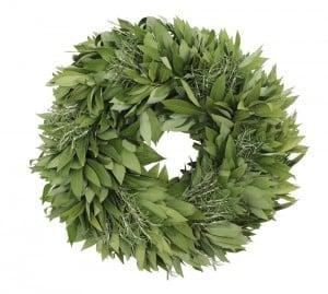 Bayleaf and Rosemary Wreath