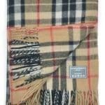 Classic Wool Blanket in Camel