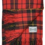 Classic Wool Blanket in Wallace Tartan