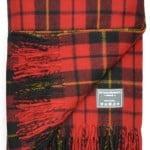 Classic Wool Blanket in Wallace Tartan
