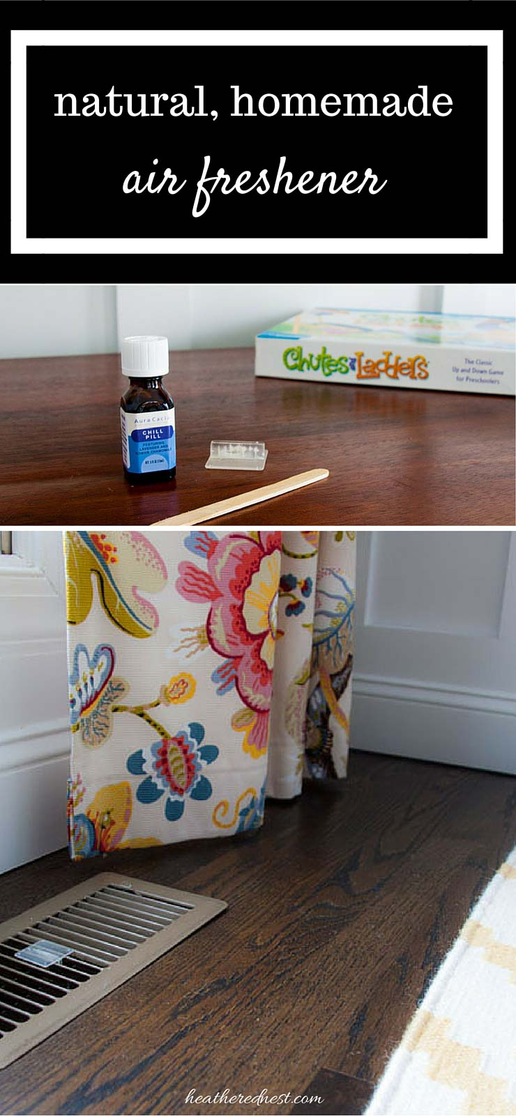 SMARTEST, easiest, cheapest ever DIY air freshener maybe ever! Make this DIY homemade air freshener in 10 seconds, using only natural oils. No more nasty chemically plug-ins! full tutorial on www.heatherednest.com