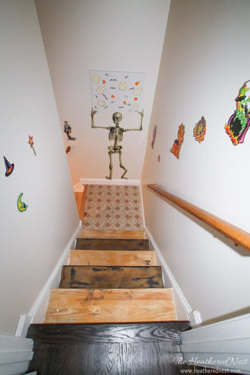 Superbe INCREDIBLE Stair Makeover With PAINT! SO Much Cheaper Than Stain Or New  Stairs!