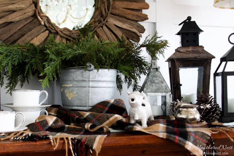 Great ideas to warm up winter decor from .heatherednest.com THESE ARE SO & Winter Decorating Ideas to Warm up Cold Spaces | The Heathered Nest